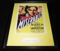 Frances Drake Signed Framed 11x14 Photo Display Les Miserables