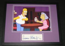 Frances Sternhagen Signed Framed 11x14 Photo Display JSA The Simpsons