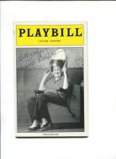 Frances Sternhagen Steel Magnolias Broadway Play Signed Autograph Playbill