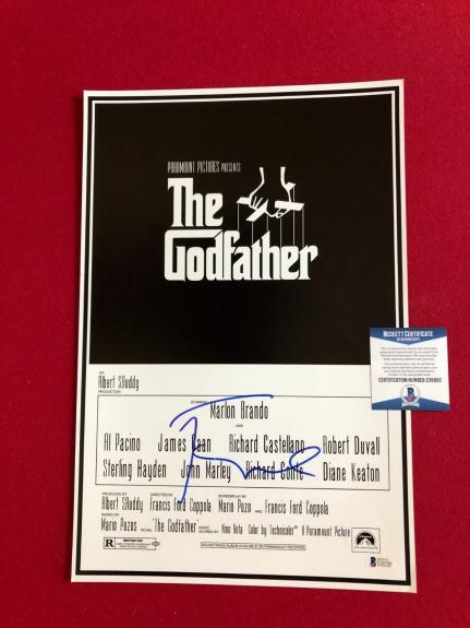 """Francis Ford Coppola, """"Autographed"""" (Beckett) 12x18 Photo (The Godfather)"""