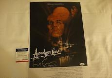 Francis Ford Coppola Signed Apocalypse Now Photo Movie Poster Psa/dna Coa Q60627