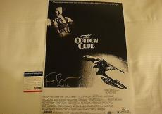 Francis Ford Coppola Signed Cotton Club Photo Movie Poster Psa/dna Coa Q60625