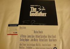 Francis Ford Coppola Signed The Godfather Photo Movie Poster Psa/dna Coa Q60245