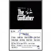"Francis Ford Coppola The Godfather Autographed 12"" x 18"" Movie Poster - BAS"