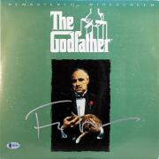 Francis Ford Coppola The Godfather Signed Laser Disc BAS #B51804