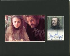 Francis Magee Game of Thrones Yoren Signed Autograph Photo Display