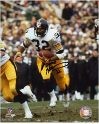 "Franco Harris Pittsburgh Steelers Autographed 8"" x 10"" White Uniform Photograph"