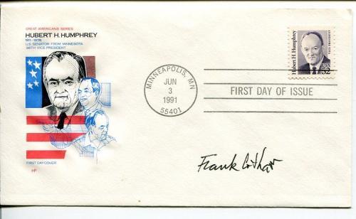 Frank Cotham New Yorker Cartoonist Artist Signed Autograph FDC