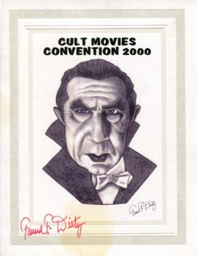 Frank F. Dietz Horror Artist Disney Animator Rare Signed Autograph Photo