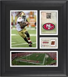 Frank Gore San Francisco 49ers Framed 15'' x 17'' Collage with Game-Used Football - Mounted Memories