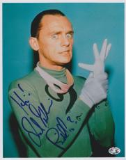 Frank Gorshin Autographed BATMAN RIDDLER 8x10 Photo with inscription - Deceased 2005