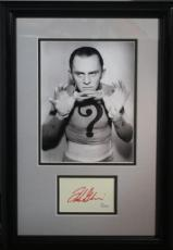 FRANK GORSHIN d.2005 (Batman- The Riddler) signed/framed photo display-JSA Auth
