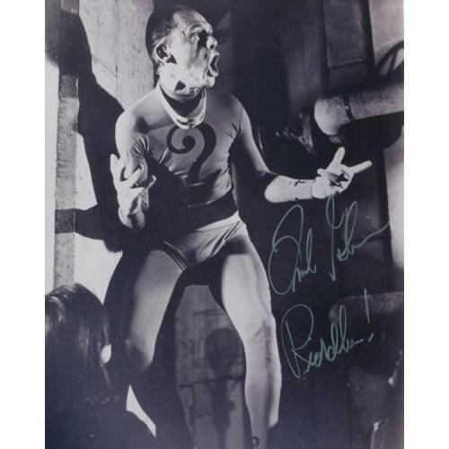 Frank Gorshin Riddler Autographed 8x10 Photo