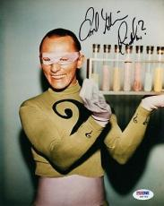 FRANK GORSHIN SIGNED AUTOGRAPHED 8x10 PHOTO THE RIDDLER BATMAN PSA/DNA
