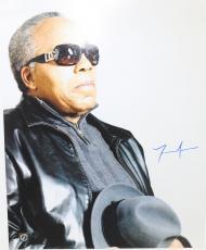 "Frank Lucas Autographed ""American Gangster"" 16x20 Photo SSG COA"