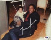 Frank Lucas Signed American Gangster 8x10 Photo PSA/DNA COA Family Picture Auto