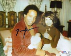 Frank Lucas Signed American Gangster 8x10 Photo PSA/DNA COA Autograph Picture