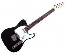Frank Marino Autographed Signed Mahogany Rush Tele Guitar AFTAL
