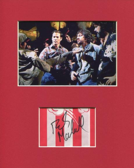 Frank Marshall Signed Autograph Photo Display W Steven Spielberg & George Lucas