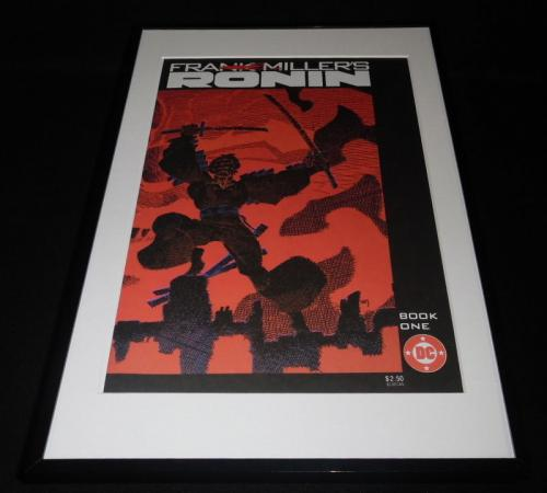 Frank Miller Ronin Book One DC Framed 11x17 Cover Poster Display Official Repro