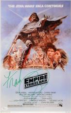 "Frank Oz Autographed 11"" x 17"" Star Wars: The Empire Strikes Back Movie Poster - JSA COA"