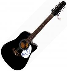 Frank Oz Autographed Muppets Signed Acoustic Guitar UACC RD COA AFTAL