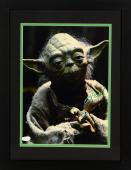 """Frank Oz Framed Autographed 11"""" x 14"""" Star Wars: Episode II- Attack Of The Clones Photograph Vertical - PSA/DNA COA"""