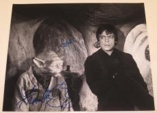Frank Oz Mark Hamill Signed 16x20 Photo Yoda Star Wars Proof Autograph Psa Loa