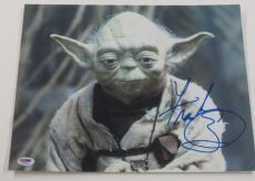 Frank Oz Signed 11x14 Photo Yoda Star Wars Proof Photo Authentic Psa/dna Coa A