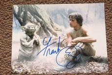 Frank Oz Signed 11x14 Photo Yoda Star Wars Proof Photo Authentic Psa/dna V72664