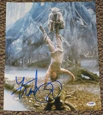 Frank Oz Signed 11x14 Photo Yoda Star Wars Proof Photo Authentic Psa/dna V72665