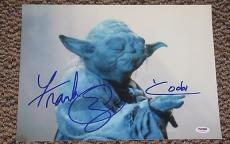 Frank Oz Signed 11x14 Photo Yoda Star Wars Proof Photo Authentic Psa/dna V72669
