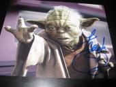 FRANK OZ SIGNED AUTOGRAPH 8x10 PHOTO STAR WARS PROMO YODA IN PERSON COA AUTO R4