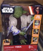 Frank Oz Signed Autograph Star Wars Legendary Yoda Official Action Figure Proof