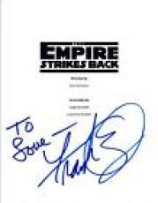 Frank Oz Signed Autograph STAR WARS THE EMPIRE STRIKES BACK Movie Script COA VD