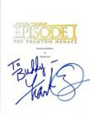 Frank Oz Signed Autograph STAR WARS THE PHANTOM MENACE Script COA VD