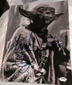 FRANK OZ SIGNED AUTOGRAPH STAR WARS YODA B/W IMAGE 11x14 PHOTO PSA/DNA W/ PROOF