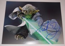 Frank Oz Signed Autographed 11x14 Photo STAR WARS YODA COA VD