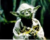 Frank Oz Signed - Autographed STAR WARS Yoda 11x14 inch Photo - Guaranteed to pass PSA or JSA