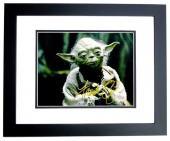 Frank Oz Signed - Autographed STAR WARS Yoda 11x14 inch Photo BLACK CUSTOM FRAME - Guaranteed to pass PSA or JSA