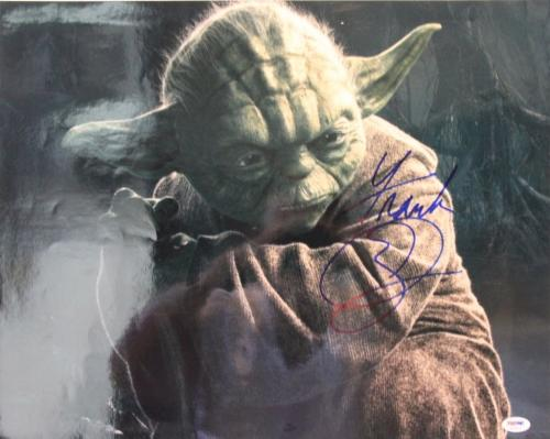 "FRANK OZ Signed Autographed Star Wars ""YODA"" 16x20 Photo PSA/DNA #AB33914"