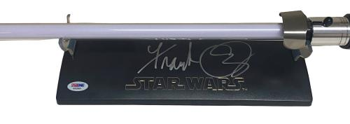 Frank Oz Signed Star Wars Fx Lightsaber Yoda Signature Series Autograph Psa Coa