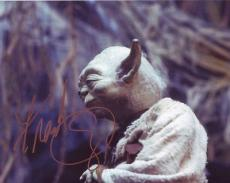 FRANK OZ signed *STARS WARS YODA* 8X10 photo W/COA