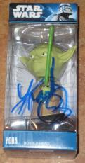 Frank Oz Signed Yoda Star Wars Funko Bobble Head Brand New In Box Exact Proof
