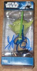 Frank Oz Signed Yoda Star Wars Funko Bobble Head Brand New In Box Exact Proof