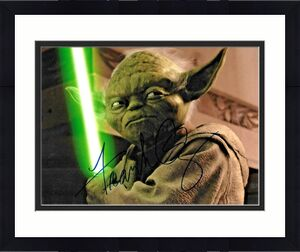 Frank OZ Star Wars Yoda Empire Strikes Back Signed Auto 8x10 Photo DG COA (B)