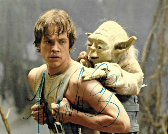 Frank OZ Star Wars Yoda Empire Strikes Back Signed Auto 8x10 Photo DG COA (C)