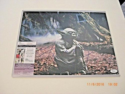 Frank Oz Star Wars,empire Strikes Back,yoda Jsa/coa Signed 11x14 Photo