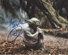"""FRANK OZ the Voice of YODA in Each of the """"STAR WAR"""" Films - Signed 10x8 Color Photo"""