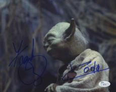 Frank Oz Yoda Star Wars Autographed Signed 8x10 Photo Authentic JSA AFTAL COA